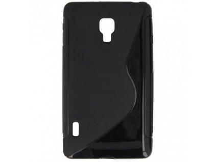 S Case pouzdro LG P715 Optimus L7 II Dual black / černé