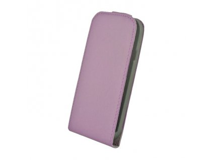 SLIGO Elegance vyklápěcí pouzdro SONY Xperia Z1 (C6903) fialové