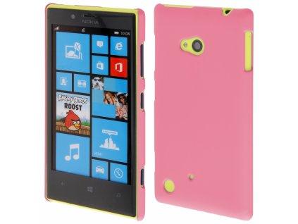 Coby Exclusive kryt Nokia 720 Lumia pink / růžový