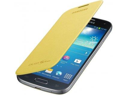 SAMSUNG EF-FI919BYE pouzdro book i9190, i9195 Galaxy S4 Mini yellow