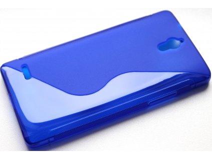 S Case pouzdro Huawei Ascend G700 blue / modré