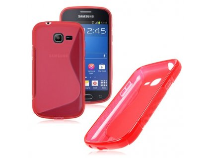 S Case pouzdro Samsung S7390 / S7392 Galaxy Trend Lite red/pink