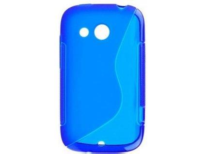 S Case pouzdro HTC Desire C blue / modré
