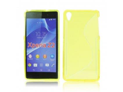 S Case pouzdro Sony Xperia Z2, D6503 yellow