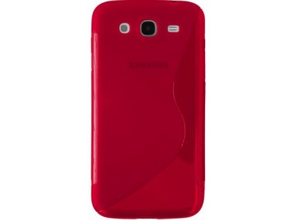 S Case pouzdro Samsung i9150 Galaxy Mega 5.8 red