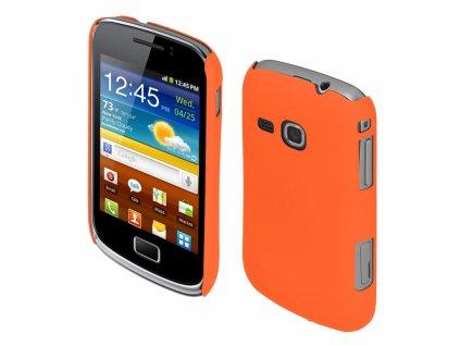 Coby Exclusive kryt Samsung S6500 Galaxy Mini2 orange
