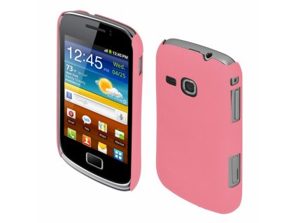 Coby Exclusive kryt Samsung S6500 Galaxy Mini2 pink
