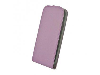 SLIGO Elegance vyklápěcí pouzdro LG D955 G-Flex fialové