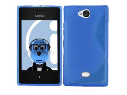 S Case pouzdro Nokia 503 Lumia blue / modré