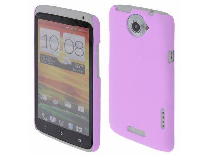 Coby Exclusive kryt HTC One X purple / fialový