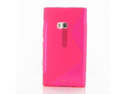 S Case pouzdro Nokia 900 Lumia pink / růžové