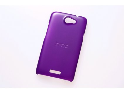 HTC HC C702 faceplate kryt HTC One X purple / fialový