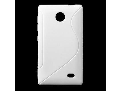 S Case pouzdro Nokia X white / bílé