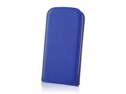 SLIGO DeLuxe vyklápěcí pouzdro Sony D2303 Xperia M2 modré