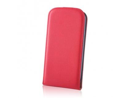 SLIGO DeLuxe vyklápěcí pouzdro Sony D2303 Xperia M2 červené