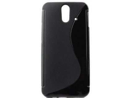 S Case pouzdro HTC E8 black / černé