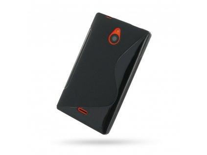 S Case pouzdro Nokia X2 black / černé