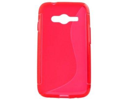 S Case pouzdro Samsung G313H Galaxy Ace NXT red / červené