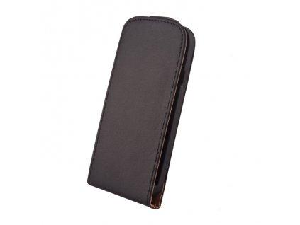 SLIGO Elegance vyklápěcí pouzdro HTC Desire 210 černé