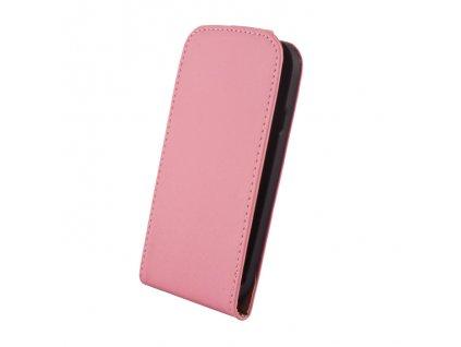 SLIGO Elegance vyklápěcí pouzdro SONY Xperia Z2 (D6503) růžové
