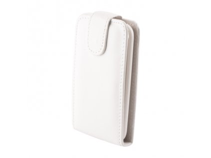 SLIGO Classic vyklápěcí pouzdro Samsung S7270 Galaxy Ace3 bílé