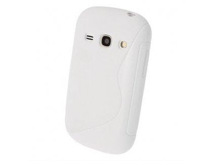 S Case pouzdro Samsung S6810 Galaxy Fame white
