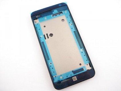 HTC Desire 300 přední kryt black / černý (bez skla)