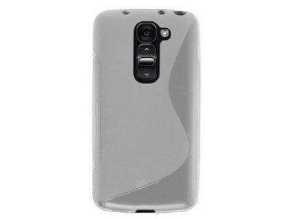 S Case pouzdro LG D620 G2 Mini transparent white