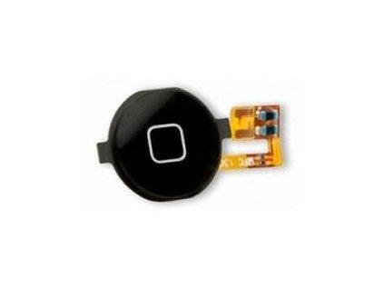iPhone 3G/3GS membrána + středové tlačítko black - originál
