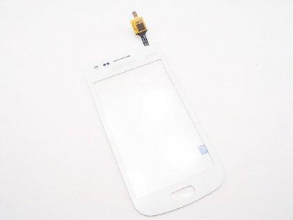 Dotyková deska + sklíčko pro SAMSUNG S7582 Galaxy S DuoS 2 bílá - OEM