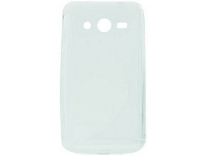 S Case pouzdro Samsung G355 Galaxy Core2 transparent white