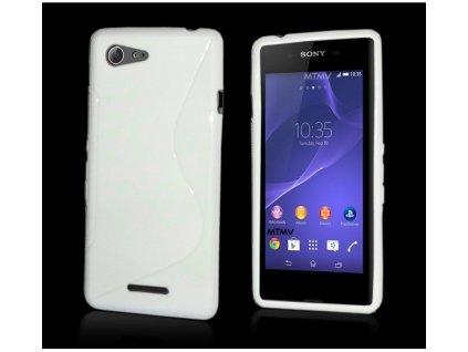 S Case pouzdro Sony Xperia E3, D2203 white