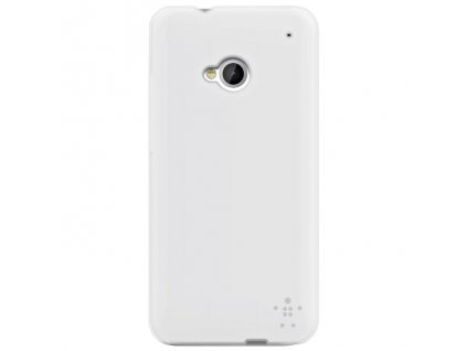 Belkin F8M568VFC01 faceplate kryt HTC One (M7) clear white (blister)