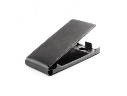 SLIGO Premium vyklápěcí pouzdro Huawei Ascend G730 černé