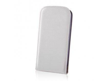 SLIGO DeLuxe vyklápěcí pouzdro HTC Desire 610 bílé