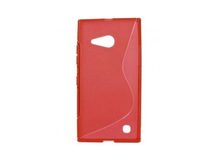 S Case pouzdro Nokia 730 / 735 Lumia red / červené