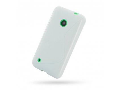 S Case pouzdro Nokia 530 Lumia white / bílé