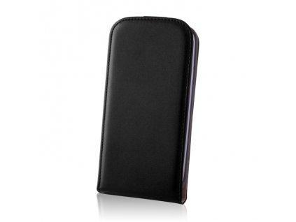 SLIGO DeLuxe vyklápěcí pouzdro Samsung G386 Galaxy Core LTE černé