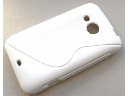 S Case pouzdro HTC Desire 200 white / bílé