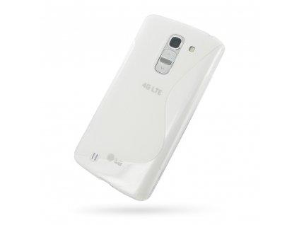 S Case pouzdro LG D838 Optimus G Pro2 transparent white