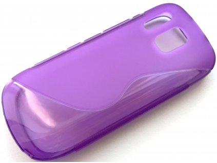 S Case pouzdro Nokia 202 Asha purple / fialové