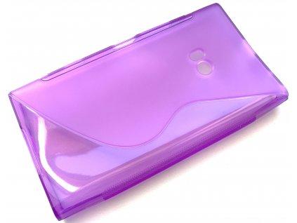S Case pouzdro Nokia 900 Lumia purple / fialové