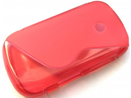 S Case pouzdro Samsung S6010 Galaxy Music red
