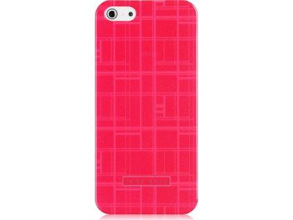 Hugo Boss Catwalk kryt iPhone 5 / 5S /SE pink / růžové (blister)