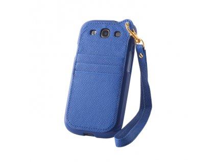 Pocket Case pouzdro Samsung G900 Galaxy S5 blue