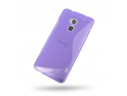 S Case pouzdro HTC One Max purple / fialové