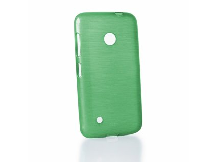Pouzdro JELLY Case Metalic Nokia 530 Lumia zelené
