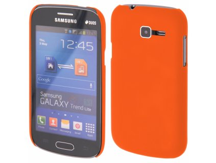 Coby Exclusive kryt Samsung S7390 Galaxy Trend Lite orange