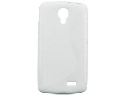 S Case pouzdro LG F70 white / bílé