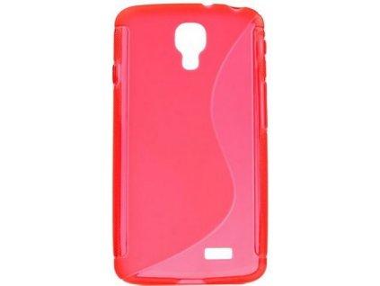 S Case pouzdro LG F70 red / červené